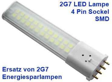 2G7 LED Lampen - Energiesparlampen 4-Pin