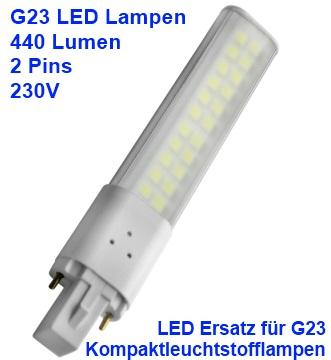 G23 LED Lampen - G23 Kompaktleuchtstofflampen