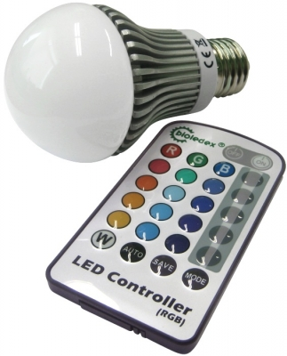 RGB LED Lampen und Spots GU10 E27 MR16 E14