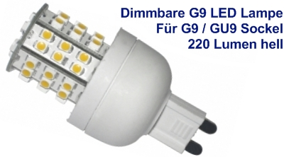 Dimmbare G9 GU9 LED Lampe von Bioledex