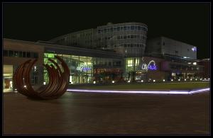 Citypalais Duisburg mit LED Beleuchtung
