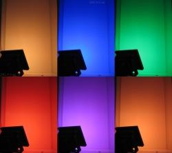 RGB LED Fluter mit Fernbedienung