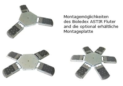 ASTIR LED Strahler Montagemöglichkeiten