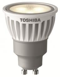 TOSHIBAs dimmbarer GU10 LED Spot