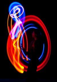 Jonglieren mit LED: Christoph Rummel